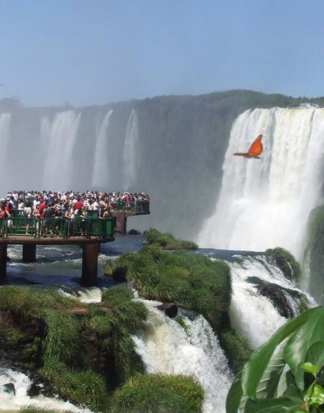 Cataratas Aereo desde Rosario