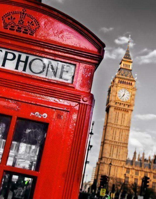 Colores de Europa con Londres