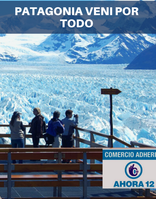 Patagonia Veni por Todo! aereo  VERANO