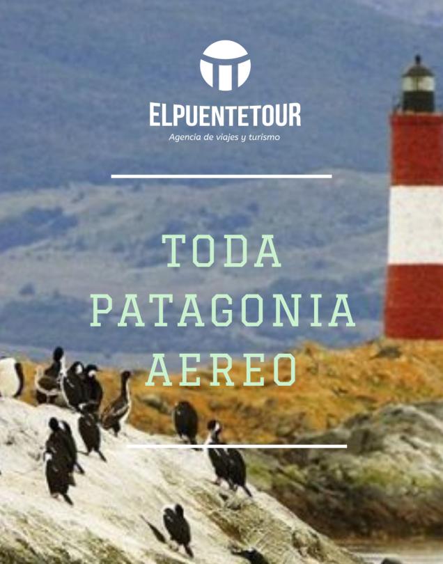 Calafate- Ushuaia aereo desde Ros